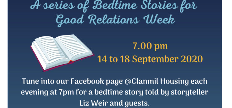 Around the World in 5 Days – Bedtime Stories: Good Relations Week 2020, celebrating 30 years.